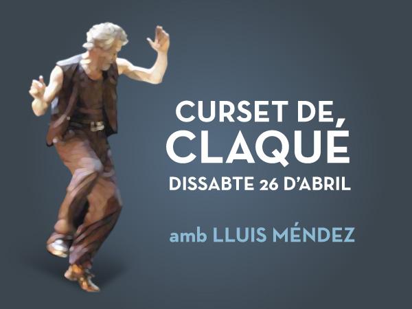 Curs de claqué amb Lluis Méndez
