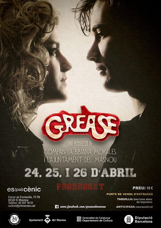 Prorrogat Grease el musical de Masnou un cap de setmana més
