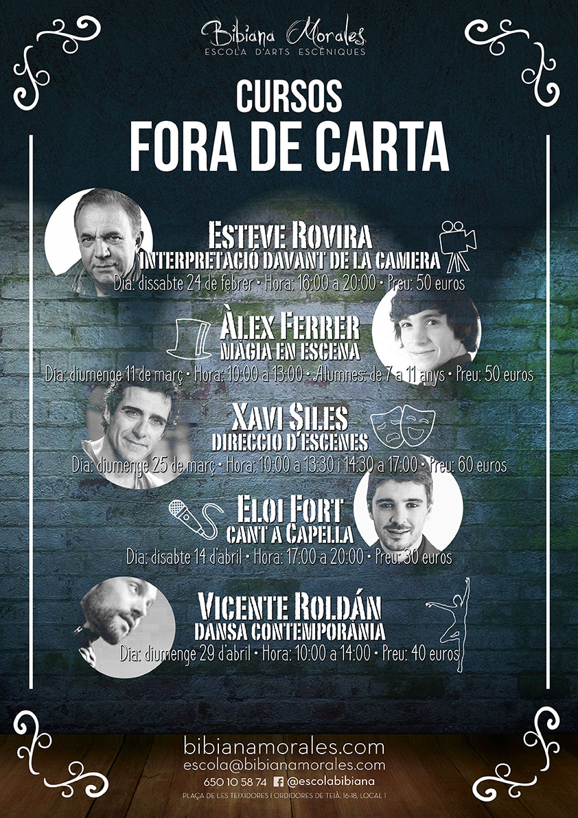Intensius fora de carta!